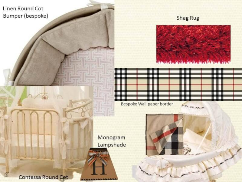 Burberry Inspired Nursery