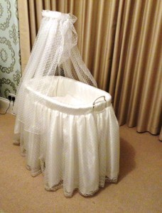 The transformed Bassinet!