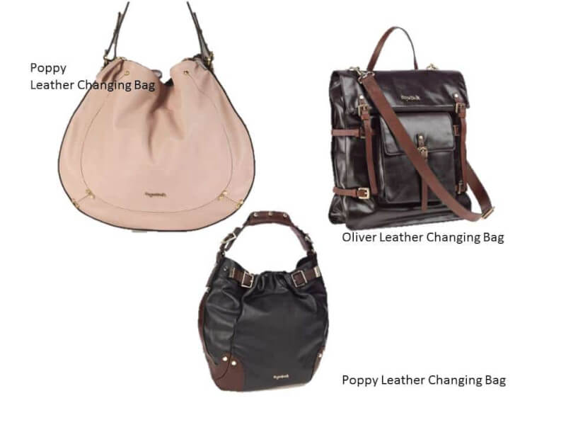 Luxury Leather Changing Bags