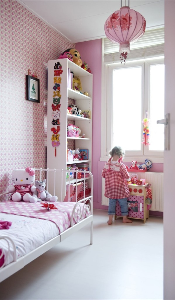 Oriental Inspired Children's room
