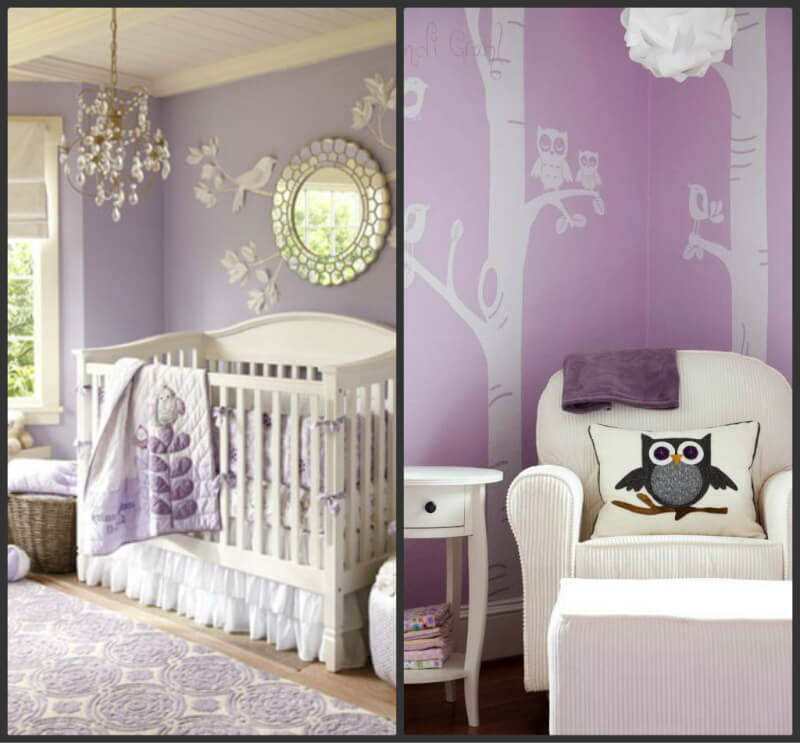 Pantone Colour Of The Year: Radiant Orchid, Purple Nursery