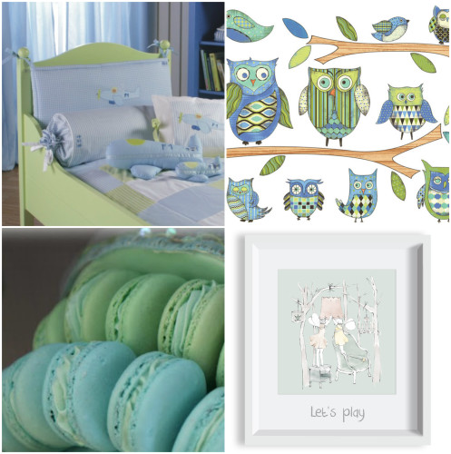 Green and Blue Room Ideas