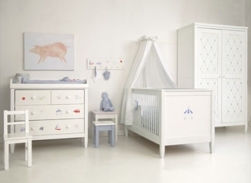 Blu Nursery Furniture Collection
