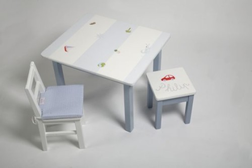 Blu table & chairs set