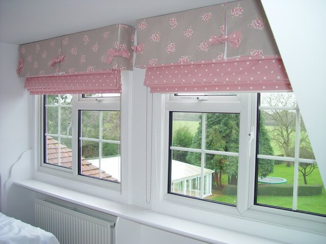 Country Floral Window Blinds