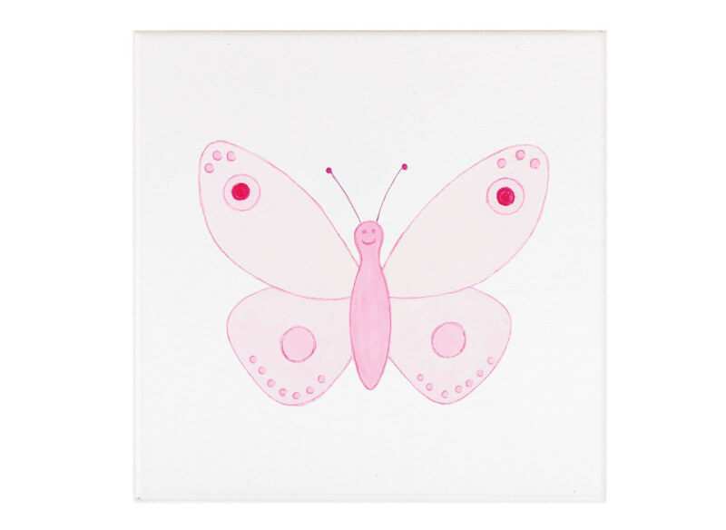 PinkPink-Butterfly-Nursery-Wall-Art