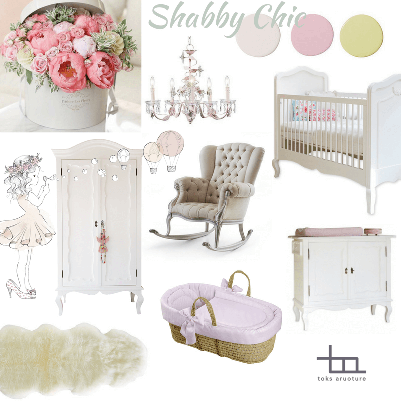 10 Shabby Chic Nursery Design Ideas: Create A Beautiful Shabby Chic Nursery